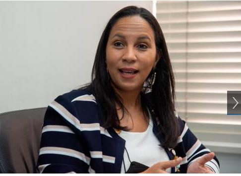 La viceministra de Turismo, Jacqueline Mora, informó del plan regeneración