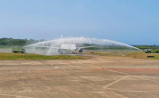 Llegaron los rusos turistas, mas de 400 Aeropuerto Gregorio Luperón