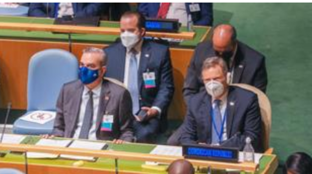 Abinader toma asiento en la asamblea general de la ONU; hablará este miércoles